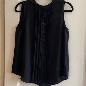 Business Professional Black Bow Tank
